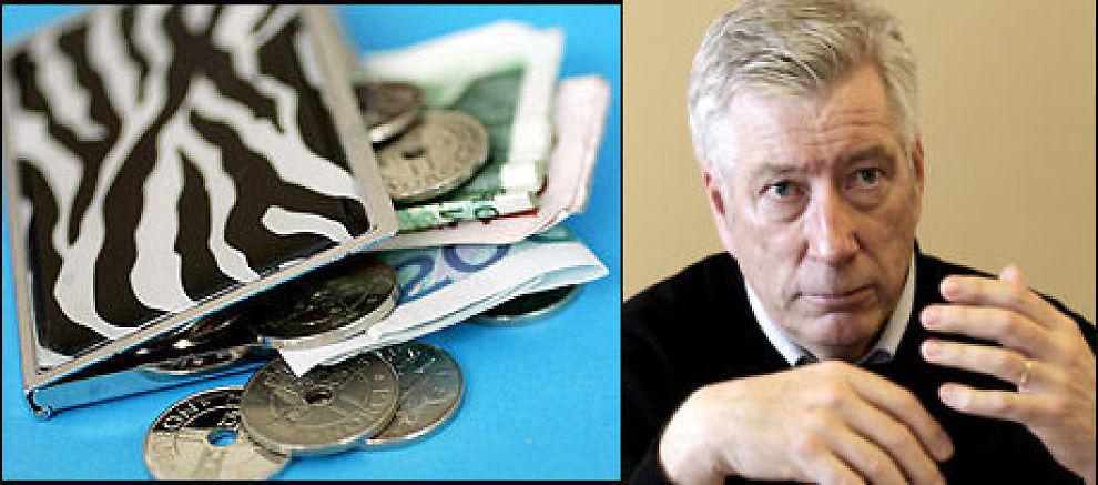 Finansminister Sigbjørn Johnsen tror ikke at en endring av dagens BSU-regler vil føre til mer privat sparing. Foto: Scanpix