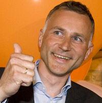 Sjefredaktør i Dine Penger, Tom Staavi, ser med optimisme på fremtidsutsiktene for verdensøkonomien. Foto: Scanpix