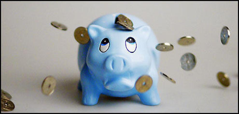 SPAR SMART: Pass på hvilken bank som skal passe på sparepengene dine. Foto: Scanpix.