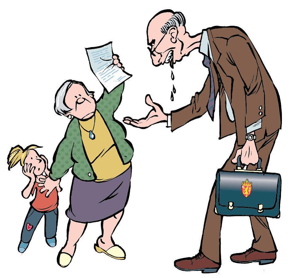Skal passe på: Mange som er verger for barn opplever at overformynderiets pass av penger er en tvangstrøye. Men noen ganger kan det være lurt.