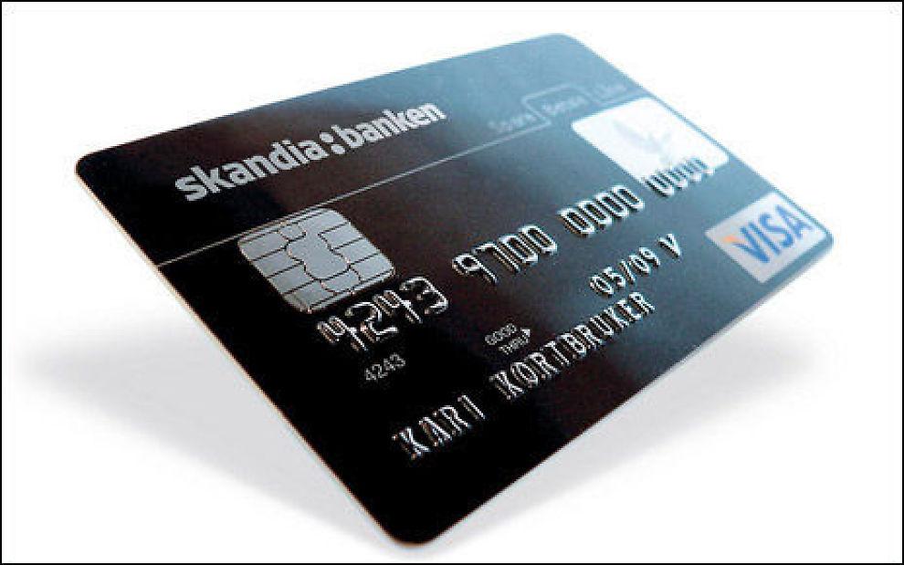 Igjen på topp. Skandiabanken kommer på nytt på førsteplass i Dine Pengers kåring over de beste kredittkortene. For «den disiplinerte» er kortet 365Privat det beste. Se resten av resultatene i artikkelen.