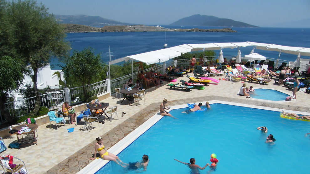 POPULÆRT FERIELAND: Tyrkia er en populær destinasjon blant feriesugne nordmenn. Her i Bodrum befinner det seg mange nordmenn i disse dager. Illustrasjonsfoto: www.colourbox.com