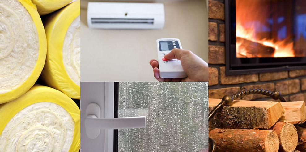 HVA SKAL DU VELGE? Bør du etterisolere, skifte vinduene, skaffe varmepumpe eller satse på den gode gamle vedovnen?