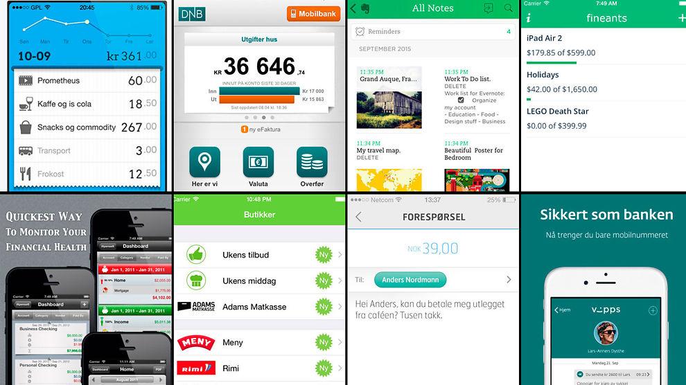 MYLDER: Det har etter hvert kommet en rekke apper på markedet. Dette er ekspertenes favortittapper innen personlig økonomi.