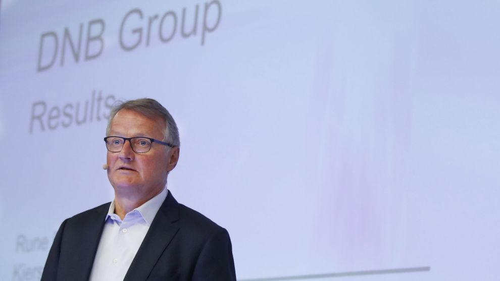 BEDRE ENN VENTET: Konsernsjef Rune Bjerke presenterte resultatet for andre kvartal 2017 tidligere i juli. Resultatet overrasket på den positive siden.