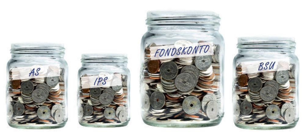 SPARINGEN: Før du putter pengene dine i en aksjesparekonto, bør du vurdere disse fire alternativene.