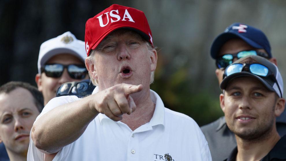 70.000 saker i norske medier i 2017 handlet om denne mannen, USAs president Donald Trump