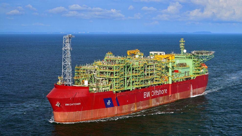 BLIR I PORTEFØLJEN: BW Offshore-aksjen har hatt en kraftig oppgang etter at selskapet 23. desember annonserte at produksjonen er i gang på skipet BW Catcher.