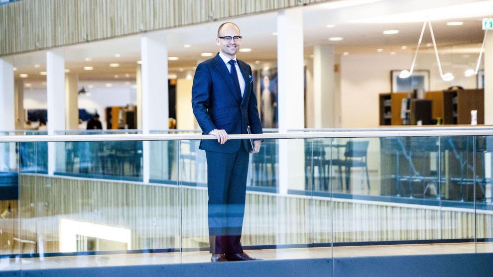 GODT SKODD: Fredrik Thoresen skal få Storebrand Vekst på riktig spor igjen. Han har ti års erfaring som analytiker fra DnB og SEB, og som forvalter i Sector Asset Management. Foto: Adrian Nielsen