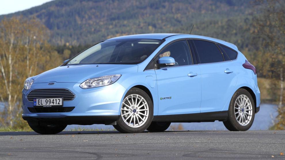 EN FIRER PÅ TERNINGEN: Ford Focus Electric. 2017-modell.