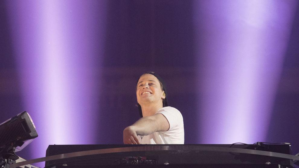 Kulturminister Trine Skei Grande var på plass da Kyrre Gørvell-Dahll, bedre kjent som Kygo holder konsert fredag kveld på Telenor Arena.