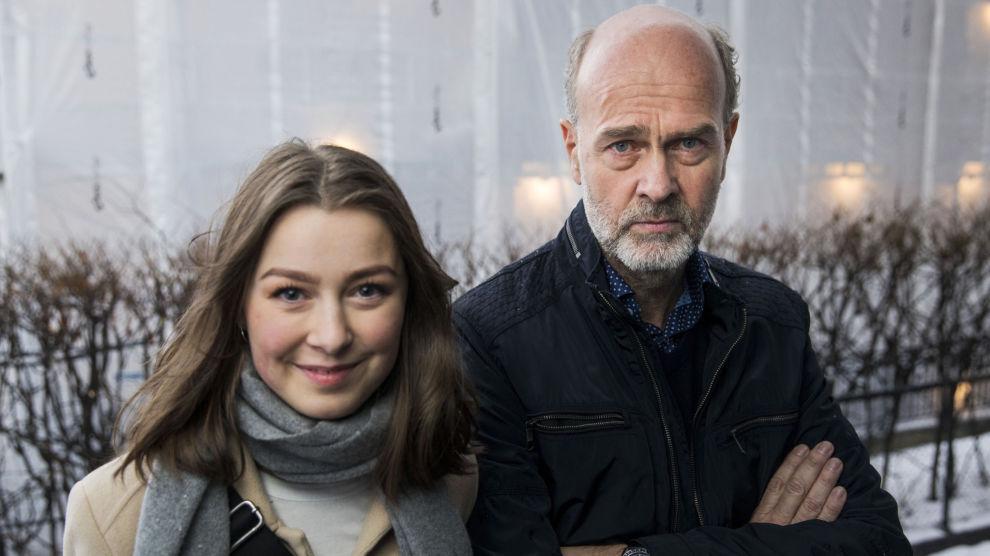 Skuespiller Andrea Berntzen har hovedrollen i Erik Poppes film «Utøya 22. juli».