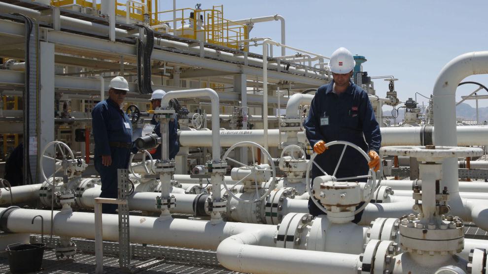 AKSJE INN: DNB Markets har tro på DNO. Her fra oljefeltet Tawke i den kurdiske regionen i Irak, selskapets viktigste felt.