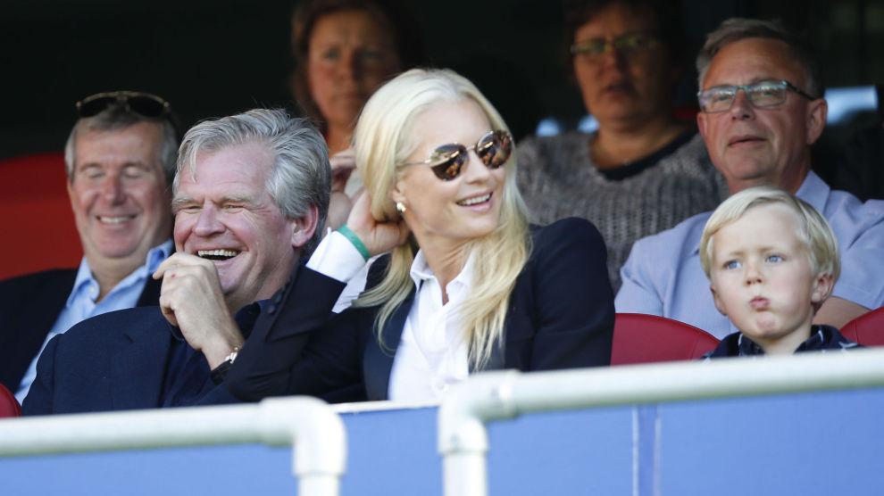 HAR TRO PÅ SPAREPRODUKTER: Tor Olav Trøim og kone Celina Midelfart er blant de største eierne i Avida Finans.
