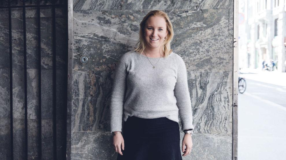 SMART SPARING: Ingebjørg Johnsrud hadde 300 000 kroner i oppsparte midler da hun skulle kjøpe leilighet. Foto: KRISTER SØRBØ, E24/Dine Penger