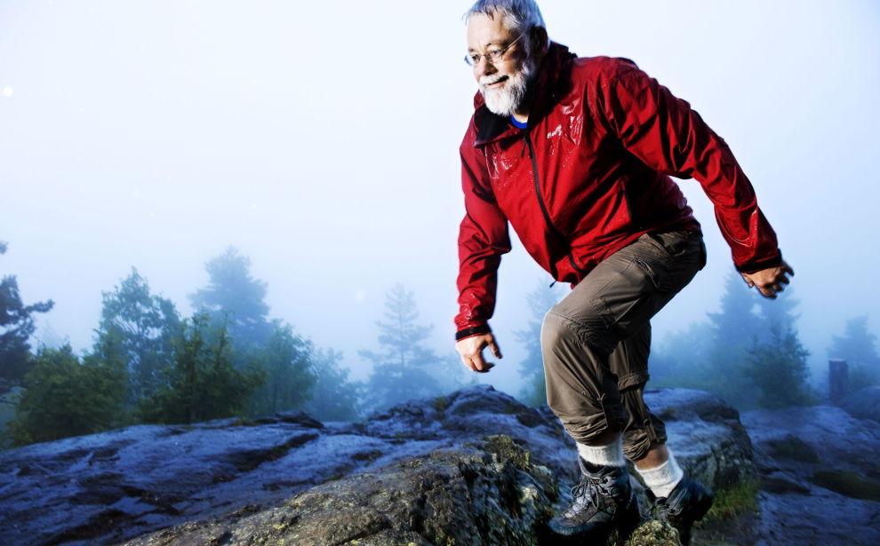 GIR RÅD: Utstyrsekspert Nils Bloch-Hoell i Turistforeningen.