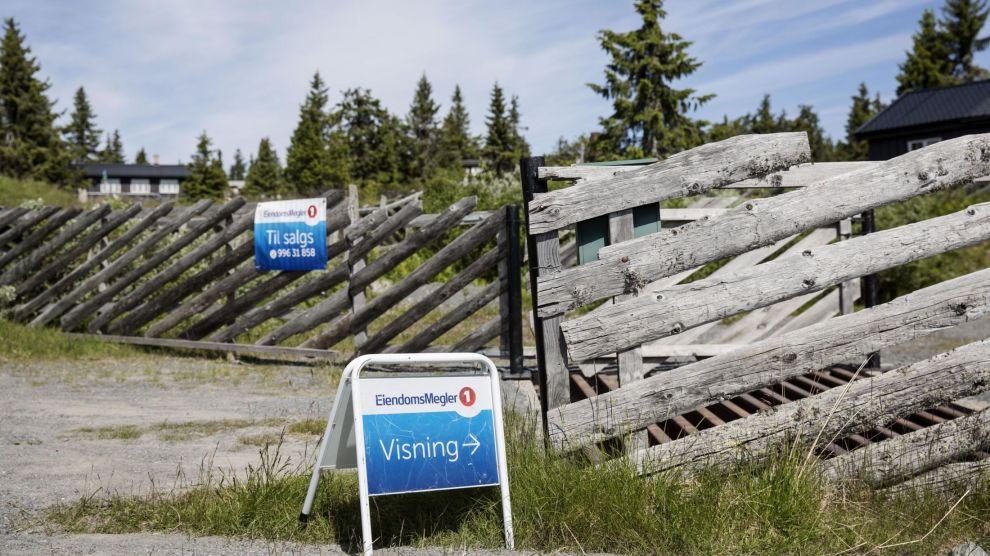 RIKTIG TIMING: Juli kan være en god måned å selge hytta på fjellet, mener meglerne Dine Penger har vært i kontakt med. Her fra Sjusjøen.