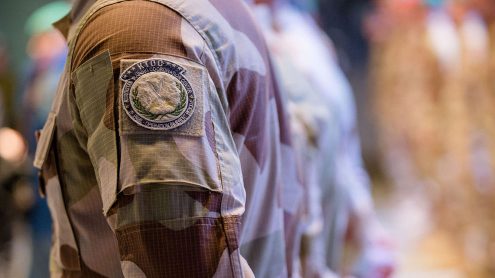 Illustrasjonsfoto. Bildet viser soldater tilbake i Norge i 2016 etter innsats i Irak.