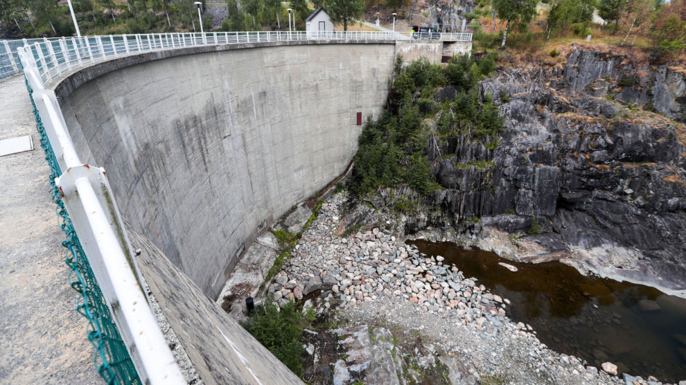 TØRKE: Fyllingsgraden i norske vannmagasin var i august nede på 60 prosent, 15 prosentpoeng under det normale.