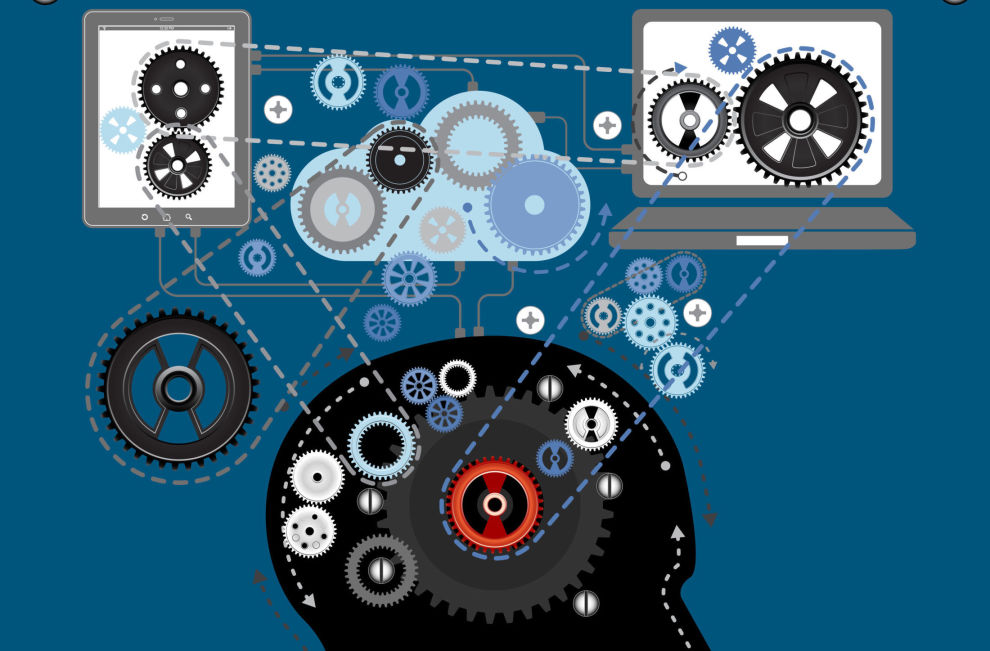 DATAMASKINENE AVGJØR: I faktorfondene har menneskene blitt byttet ut med algoritmer. Men faktorene bestemmes fortsatt av mennesker.