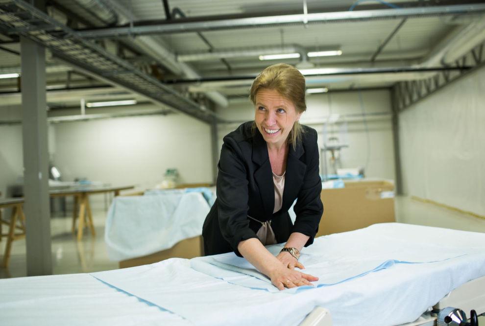 NATTEFRI: Astrid Skreosen jobber mye, men ikke om nettene. Ekspertene advarer mot nattarbeid dersom du skal lykkes som gründer.