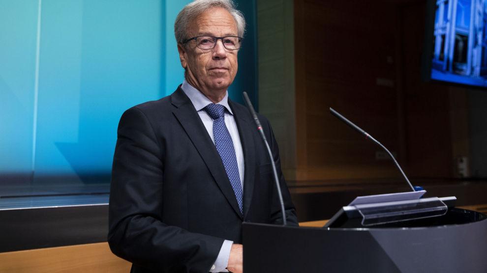 SKRUR OPP RENTA: Sentralbanksjef Øystein Olsen har varslet flere rentehevinger i tiden som kommer.