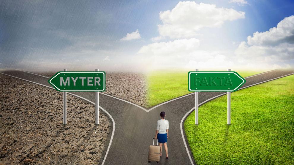 HVA ER RIKTIG?: Det er mange myter om økonomi der ute. Hallgeir prøver å knuse de mest kjente.
