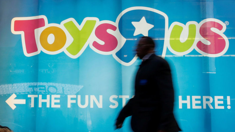 INGEN LEK: Leketøyskjeden Toys R Us gikk konkurs i år, mye på grunn av for høy gjeld.