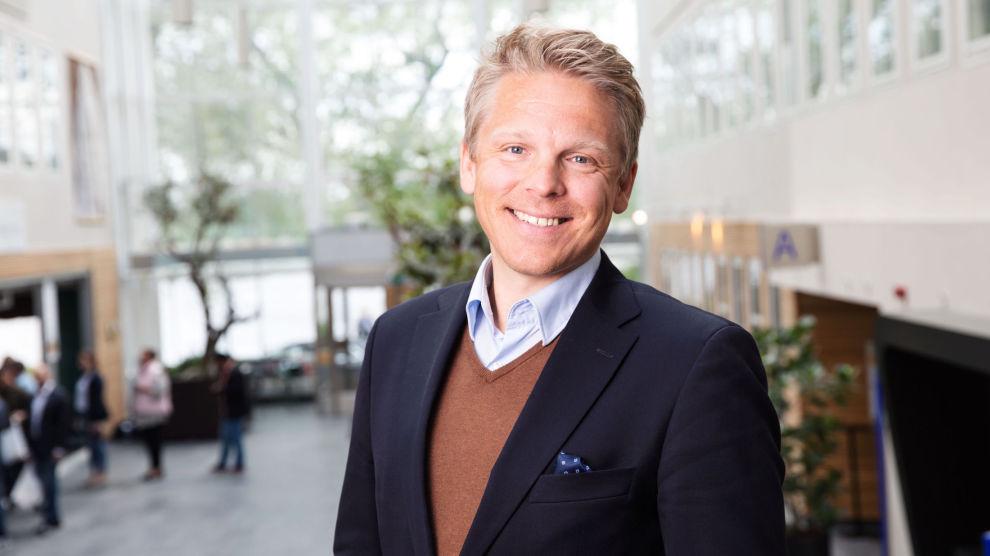 – INGEN EKSTRA RISIKO: Daglig leder i Nordnet Norge, Anders Skar lover kundene en ekstra inntektsmulighet på aksjebeholdningen, uten ekstra risiko.