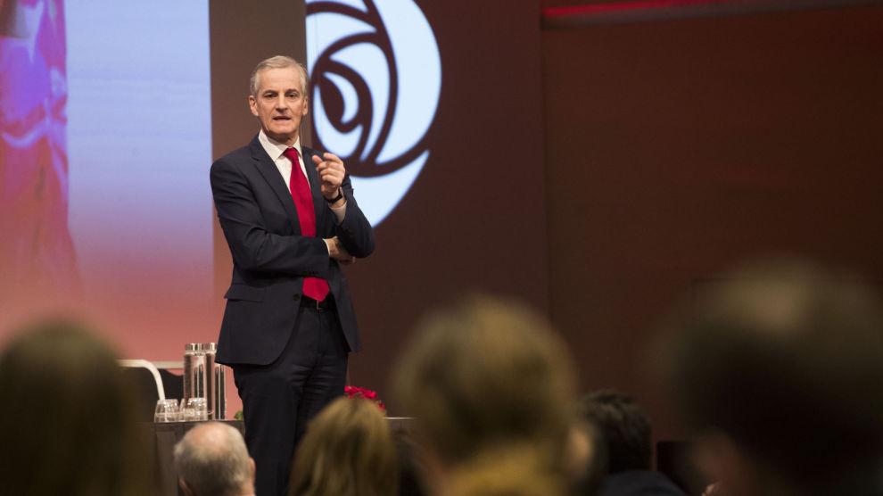 Ap-leder Jonas Gahr Støre holder fast ved at Ap bør beholde kompromisset om LoVeSe fra 2017.