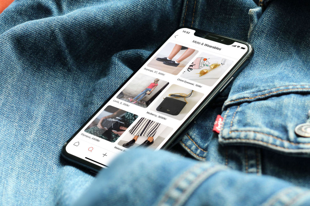 UNG APPELL: Bruktsalg-appen Tise er spesielt populær blant tenåringsjenter.