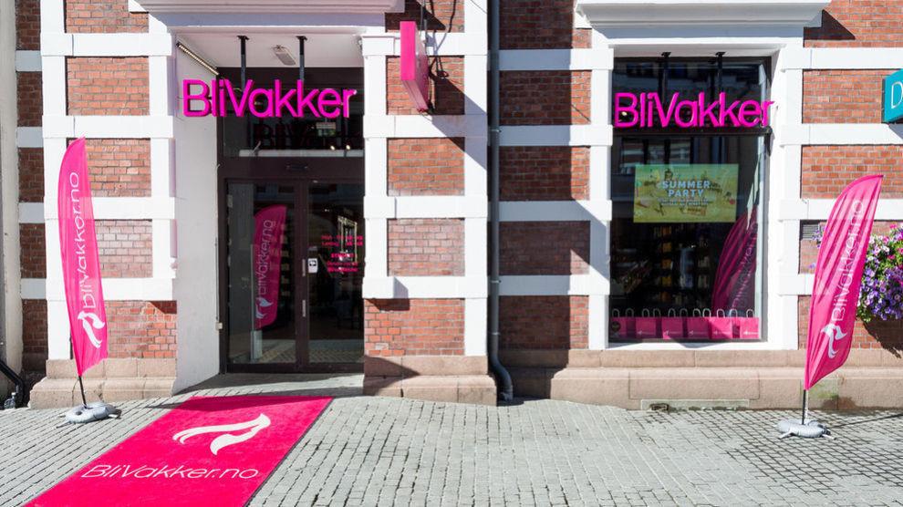Bli Vakker-butikk i Kristiansand.