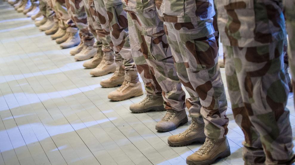 De norske soldatene i Irak er inne i en rolig periode og holder seg stort sett i leiren, opplyser Forsvarets operative hovedkvarter. Foto: Audun Braastad / NTB scanpix