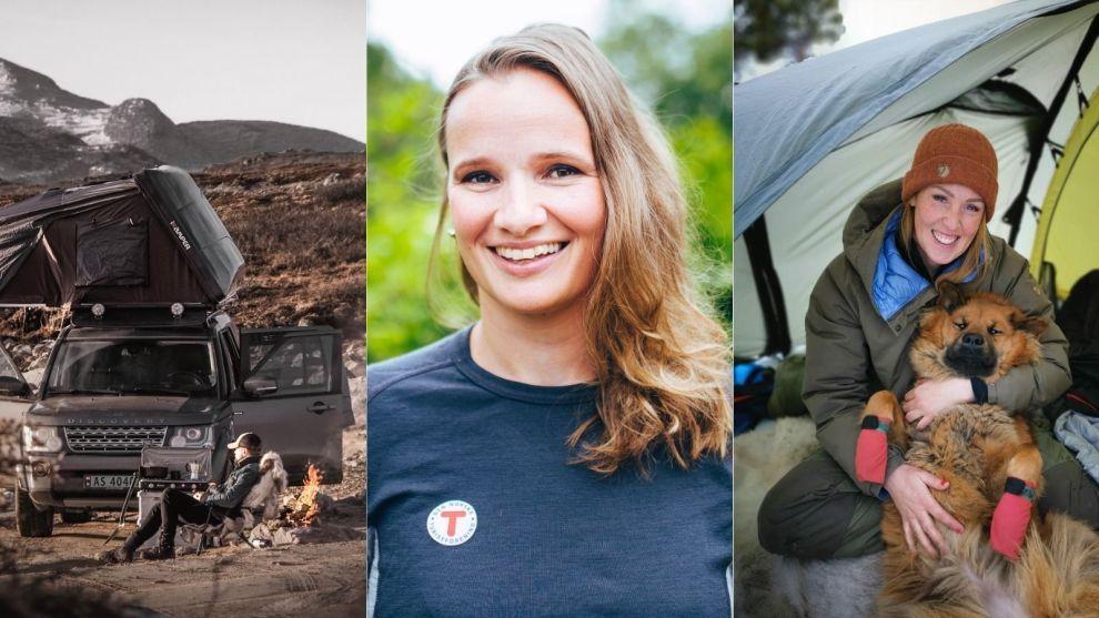 UT PÅ TUR: Fra venstre: Kasper Høglund, Mari Stephansen og Bodil Gilje gir deg gode turtips til sommerferien.