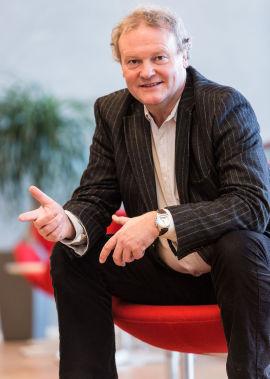 Pensjonsøkonom i Storebrand, Knut Dyre Haug.