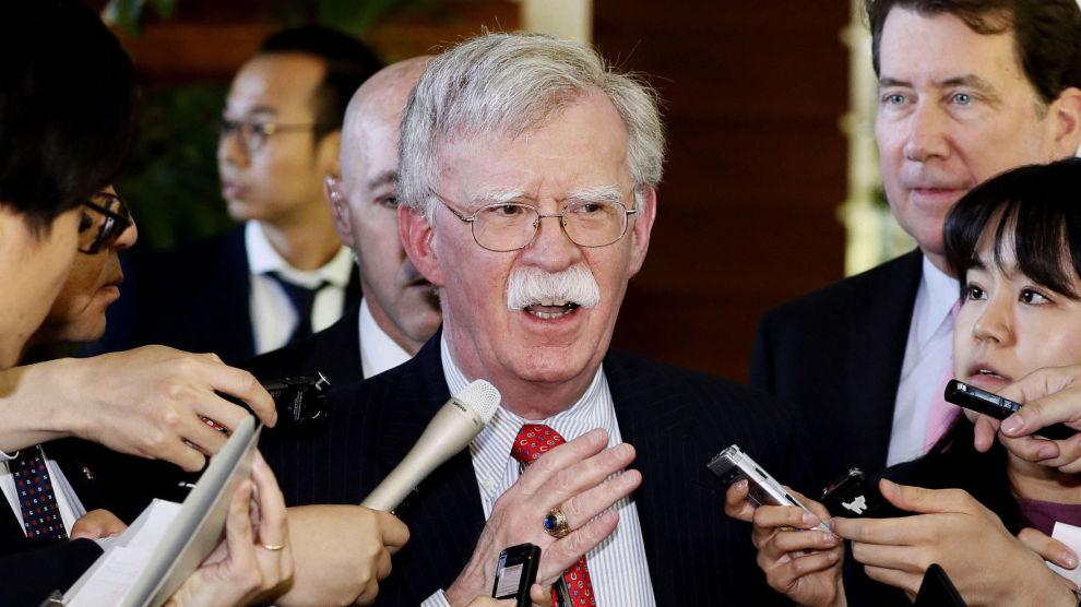 USAs nasjonale sikkerhetsrådgiver John Bolton, her under et besøk i Tokyo. Foto: Yohei Kanasashi / AP / NTB scanpix