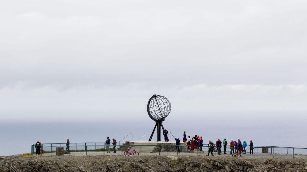 Nordkapp-platået er Norges tredje mest populære turistattraksjon med 300.000 besøkende årlig. Foto: Vegard Wivestad Grøtt / NTB scanpix