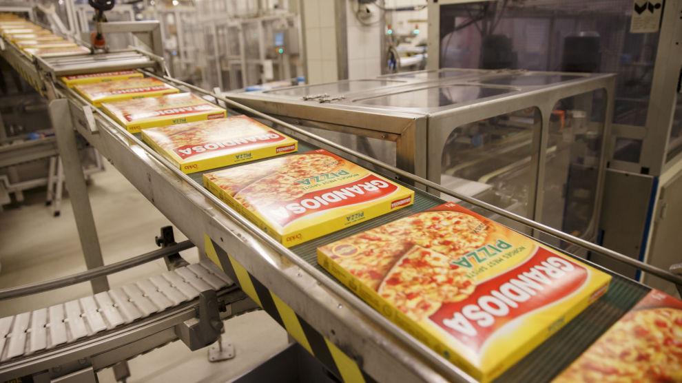 EKTE KJÆRLIGHET: Delphi satser på Orkla, som blant annet produserer frossenpizza.