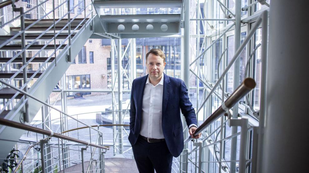 KUNG I SVERIGE: Vegard Søraunet ble hentet fra Odins globale fond for å «redde» Sverige-fondet i 2013.