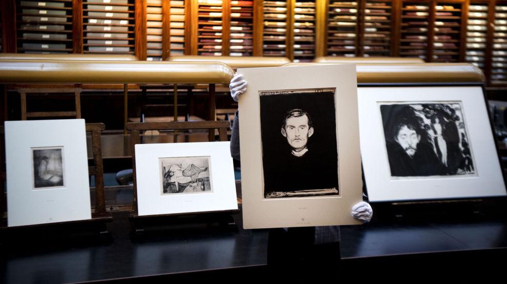 KONGEN: Det er få som kan måle seg mot Edvard Munch. Klarer du å få kloa i et av hans verk, kan du vente deg en solid avkastning med årene.