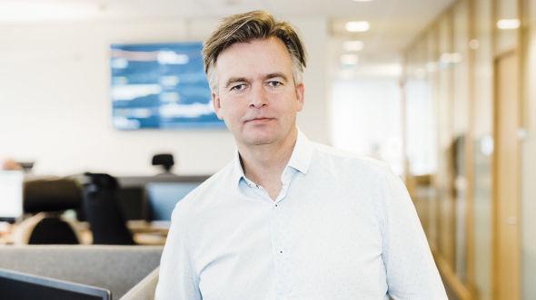 HAR TATT PRISGREP: Avtroppende Sbanken-sjef Magnar Øyhovden sier han ikke vil ha problemer med å ta farvel med fond som ikke godtar deres nye prismodell.