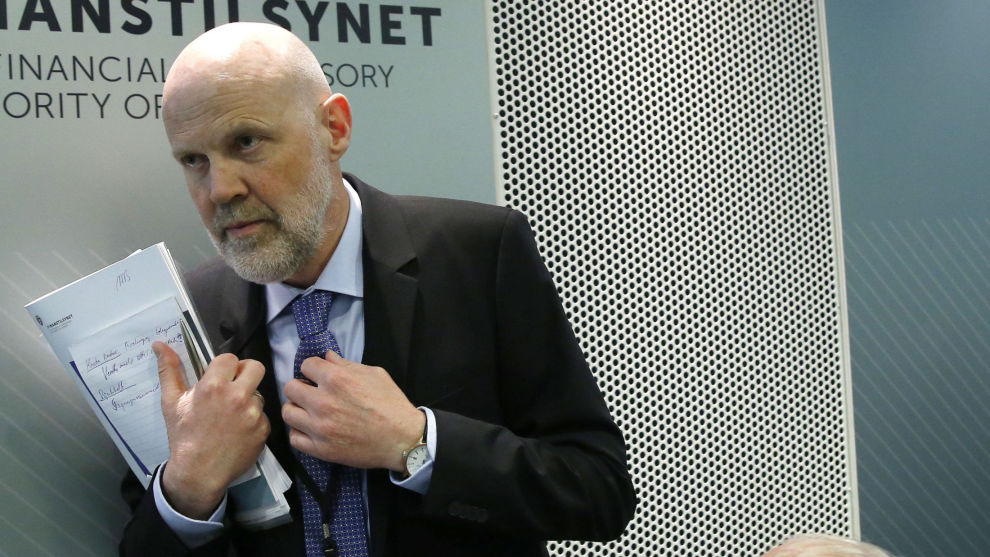 VIL STRAMME INN: Finansdirektør Morten Baltzersen mener bankene bør holde mer igjen, og at de trenger regler for å få det til.