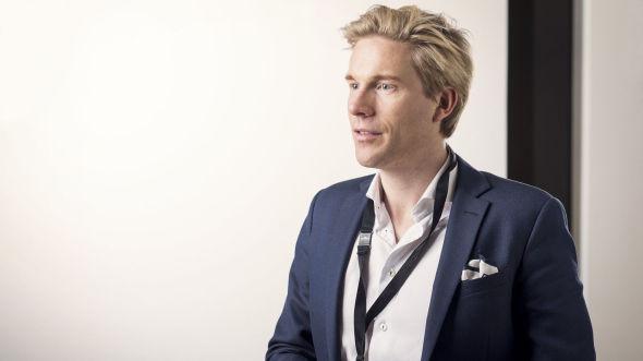 Christoffer Hernæs, direktør for IT og forretningsutvikling i Sbanken