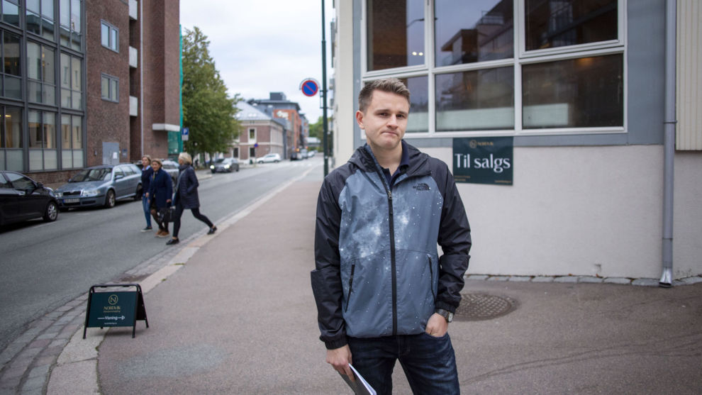 VIL KJØPE: Terje Rensel er klar for å gå til innkjøp av sin første bolig, men er usikker på hvordan en eventuell innstramming i boliglånsforskriften vil påvirke ham.