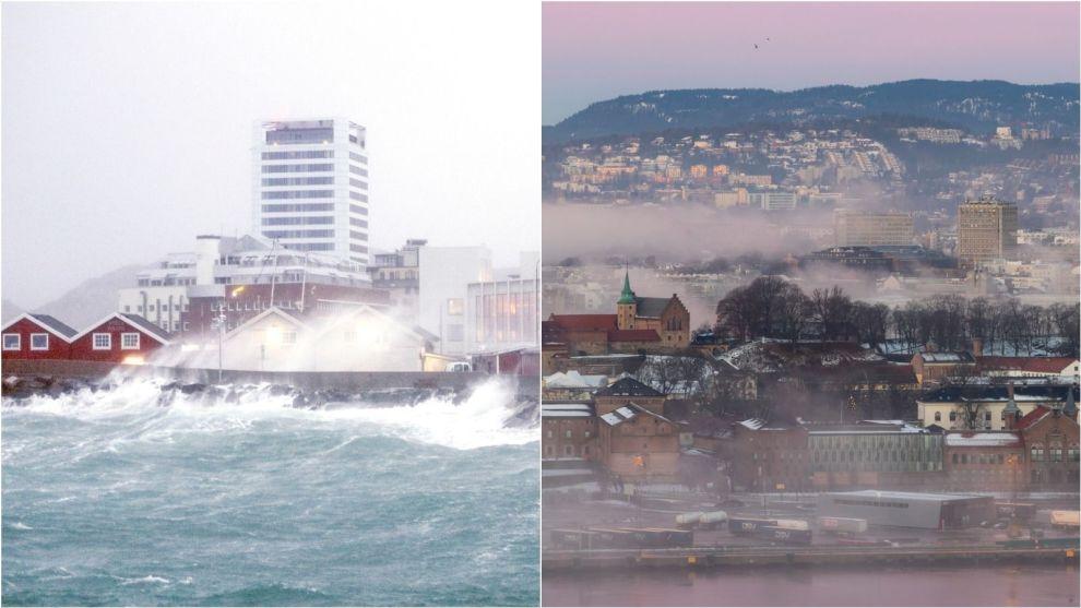 POPULÆRE BYER: Oslo og Bodø med omegn er stedene hvor boligprisene har steget mest det siste året.