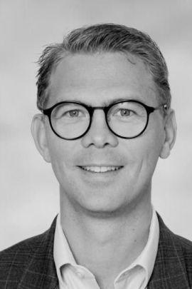 Jens August Larsen, daglig leder i Eie Fredrikstad.