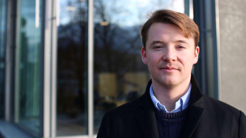 ØNSKER Å SOVE GODT: Arne Magnus Lorentzen Ulland tror mange de neste årene kommer til å kjenne at de har for lite investert i defensive aksjer. Foto: Privat.