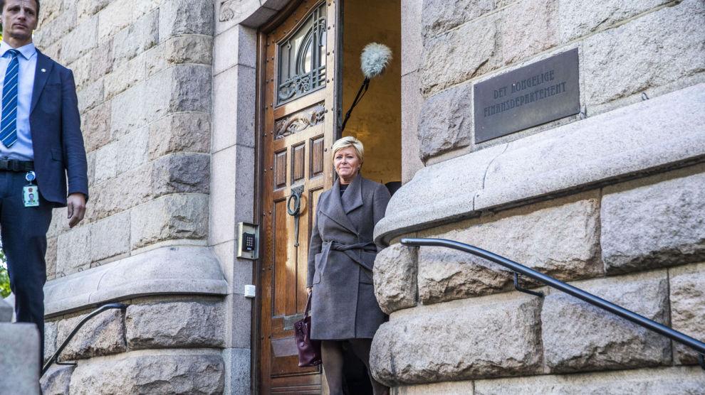 I RO: Finansminister Siv Jensen viderefører boliglånsforskriften, uten videre innskjerpelser.