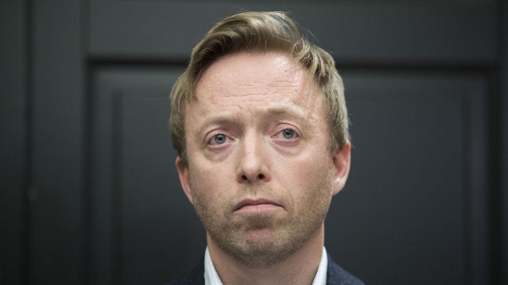 John-Ragnar Aarset går av som generalsekretær i Høyre. Foto: Håkon Mosvold Larsen / NTB scanpix