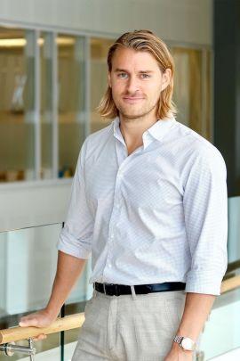 Kristian K. Fredheim, kommunikasjonssjef i Sbanken
